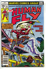 Human Fly 11 Marvel 1978 VF NM Motorcycle School Bus