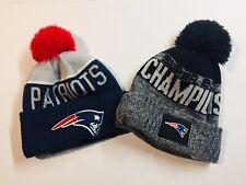3e97f2c85 New England Patriots New Era Knit Super Bowl LIII Champions Parade Hat Cap  LOT 2