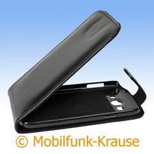 Flip Case étui pochette pour téléphone portable sac housse pour samsung galaxy grand (Noir)