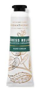 NEW Bath & Body Works Aromatherapy Stress Relief Eucalyptus Spearmint Hand Cream