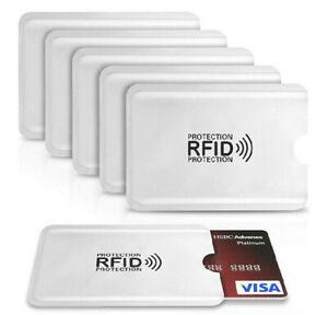 5 pochette étui protection carte bancaire sans contact RFID anti-piratage 2020