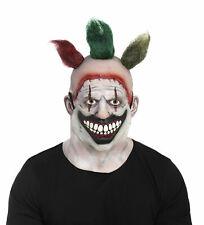 American Horror Story Twisty The Clown Vinyl Mask Adult Mens Asylum Freak Show