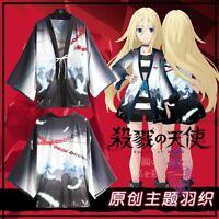 Satsuriku no Tenshi Angels of Death Isaac Foster Zack Yukata Outerwear Haori