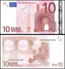 European Union 10 Euros, 2002, P-9y, UNC, Prefix-Y
