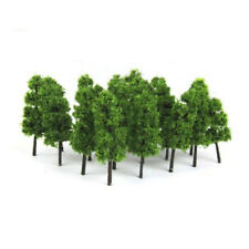20Pcs Model Trees Train Railroad Diorama Wargame Park Scenery HO scale 6cm Mini