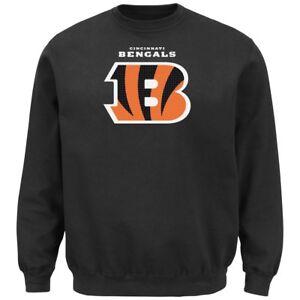 """Cincinnati Bengals Majestic NFL """"Critical Victory 2"""" Men's Crew Sweatshirt"""