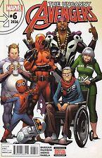 Uncanny Avengers #6 (NM)`16 Duggan/ Pacheco