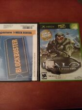 2 Xbox Games HALO: COMBAT EVOLVED CIB & Delta A Force Black Hawk Down Disc Only