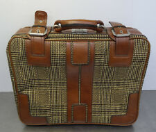 vintage youngtimer suitcase 70s - Älterer Designer Reisekoffer Reise Koffer 70er