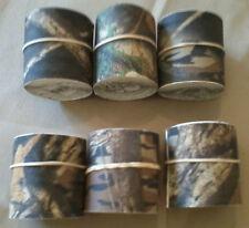 "Camo Tape, Mossy Oak Shadow Branch, 2"" x10', 6 bulk rolls, Camp-Cap,Made in USA"