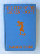 Carolyn Keene CLUE OF THE BROKEN LOCKET  Nancy Drew   Glossy Tandy Plate G & D