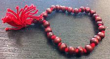 Rare Buddhist Prayer Mala Sandalwood Beads Bracelet Meditation Yoga Fair Trade