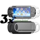 3 FULL BODY CLEAR FILM SCREEN GUARD PROTECTOR FOR SONY PLAYSTATION PS VITA
