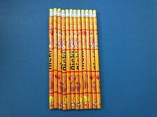 Nieki Panda Teddy Bear Pencils With Eraser HB Pack of 12 -Ideal Party Bag Filler