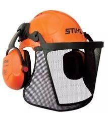 STIHL Genuine Professional Helmet Earmuff & Visor Kit Chainsaw Safety Protection