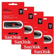 SanDisk Cruzer Glide 32GB Flash Drive USB 3.0 Thumb Memory Pen 32 GB Lot4