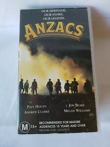 ANZACS Our Heritage, Our Story, Our Legend: VHS Classic TV Mini-series - RARE