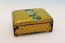 Späte Qing Dynastie Cloisonné Deckeldose - 17381 –