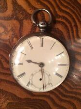 (Ref. 27) Fletcher Oldham Silver Pocket Watch 1863 (?), 50 mm, Shake Work