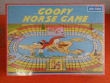 PLAY TIME WALT DISNEY GOOFY HORSE GAME NUOVO IN SCATOLA VINTAGE