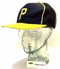 *RARE* PITTSBURGH PIRATES Baseball HAT Cap by OTTO Adjustable size MLB VINTAGE