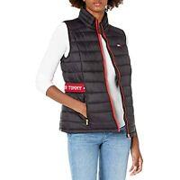 $99 Tommy Hilfiger womens Tommy Hilfiger Women's Outerwear Vest Black Size XS