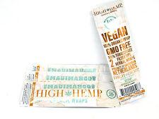 High Hemp Maui Mango Organic Wraps 4 Packs (box) 2 Wraps ea Gmo Tobacco Free