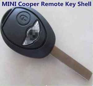 MINI Cooper Remote Key Shell For R53 R50 Case Replacement with logo