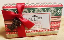 Castelbel Holiday Christmas Bath Bar Soap Gingerbread Paper Wrapped 10.5 OZ