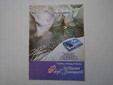 advertising Pubblicità 1973 BACI PERUGINA