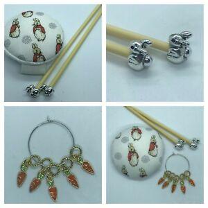 Beatrix Potter Flopsy Bunny Knitting Gift Set Handmade