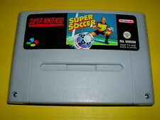 Videospiel SNES Super Soccer Super Nintendo