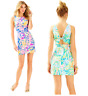 LILLY PULITZER COURTNEY SHIFT DRESS Sea Salt And Sun /Catch And Release 024614