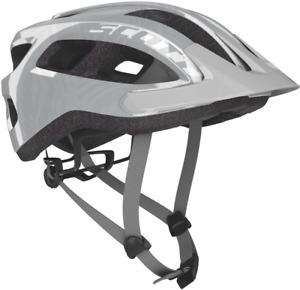 Scott Supra Cycling Helmet, Silver, 54-61cm
