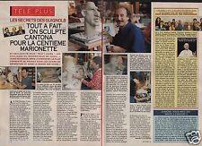 Coupure de presse Clipping 1992 Les Secrets des Guignols  (2 pages)
