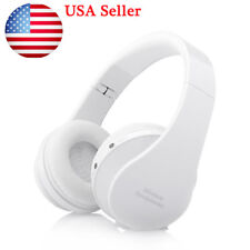 Wireless Bluetooth Headset Stereo Headphone Earphone For Samsung iPhone PC PM4