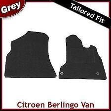 Citroen Berlingo Van Mk2 2008 onwards Tailored Fitted Carpet Car Mats GREY