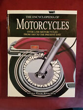 THE ENCYCLOPEDIA OF MOTORCYCLES ~~ from 1885 to ... FREE SHIPPING!!
