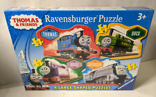 Ravensburger Thomas & Friends 4 Large Shaped Puzzles in a Box New Sealed