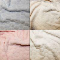 Big Dimple & Bubble Winter Premium Warm Anti Pill Polar Fleece Soft Fabric H.Q