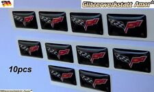 10 pcs Auto Car Styling Sticker Emblem Abzeichen Aufkleber Logo Tuning 1A-Qualit