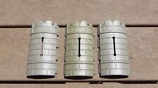 playmobil vintage castle wall parts curved w/ arrow slit lot of 3
