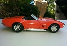1:18 Diecast Model 1969 Chevrolet Corvette in orange by Revell