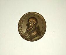 Medaille jeton bronze Vatican Marcellus II 1555 CLAVES REGNI CELOR ROMA