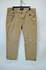 7 For All Mankind Womens Size 38 Luxe Performance The Straight Khaki Pants (J8)