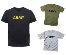 Kids Army Physical Training T-Shirt Military Rothco 66080