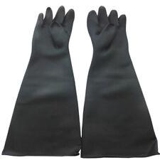 2X(Sand Blasting Gloves for Sandblast Cabinet Gloves 60x20cm Y4B7)