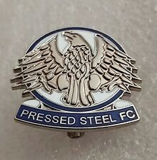 More details for pressed steel fc (cowley, oxfordshire) enamel football club crest pin badge