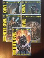Before Watchmen: Nite Owl Comic Book Lot, DC   Near Mint, 2012, Variants