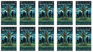 🔥 BASILISK #1 (BOOM,2021,HORROR) LOT OF 10 SCHARF MAIN COVER 🔥